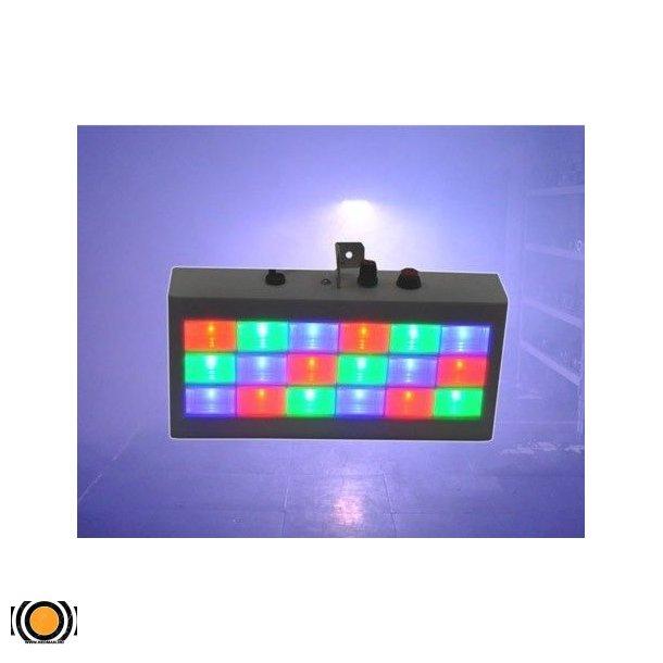 LED Farge STROBE RGBW 18 W (UTLEIE)