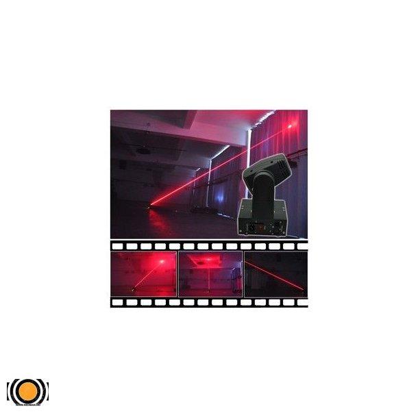 Laser Rød Mini Moving Head Fat beam 300mW 300nm
