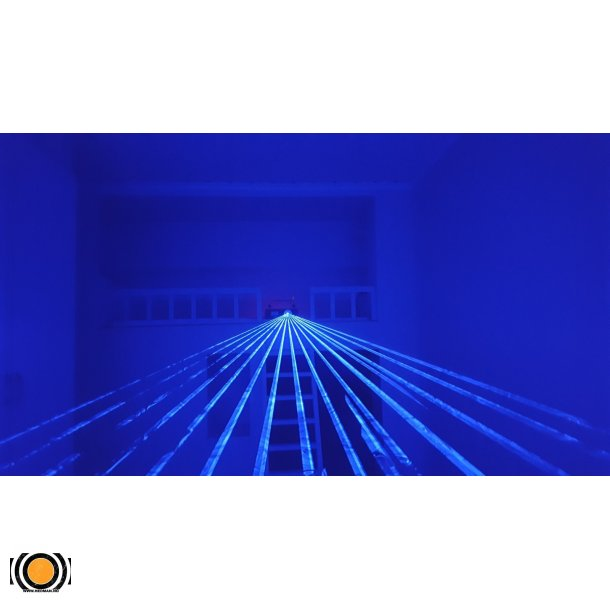 Laser Blå 1000 mW 450nm