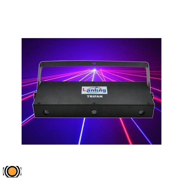 Laser Trifan Multi-Effect Laser Show System (Rød, Grønn & Blå)