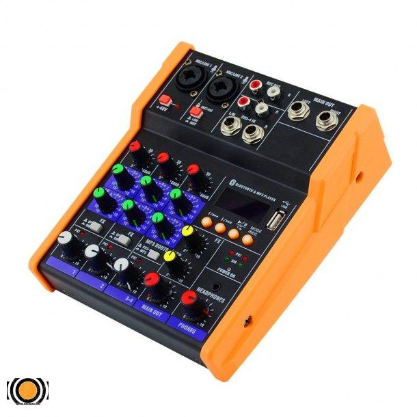 Mixer3/4 Kanals med USB & Bluetooth