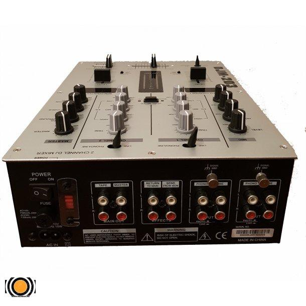 2 Kanals DJ Mixer